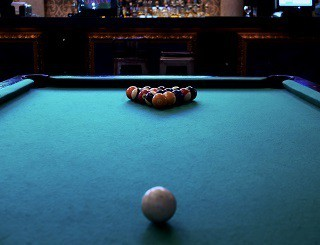 pool table room dimensions in Edison content img1